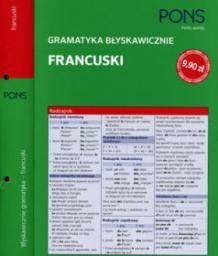 Gramatyka błyskawicznie Francuski