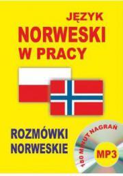 Język norweski w pracy Rozmówki norweskie + CD