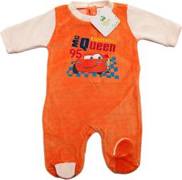 Cars Pajacyk dla niemowlaka Disney Cars. Pomarańczowy 67 cm