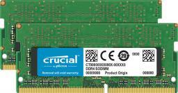 Pamięć do laptopa Crucial DDR4 SODIMM 2x8GB 2666MHz CL19 (CT2K8G4SFS8266)
