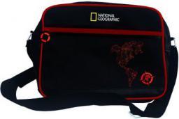 Torba Santoro Torba duża na ramię National Geographic Compass Red czarno-czerwona (235019)