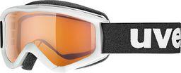 UVEX Gogle narciarskie dziecięce Speedy pro białe (55/3/819/1112/UNI)