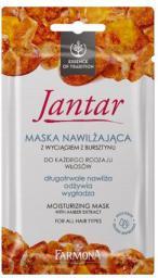 Farmona Jantar Maska nawilżająca do włosów każdego rodzaju 20ml saszetka