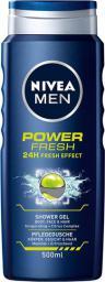 Nivea Men Power Fresh   Żel pod prysznic 500ml