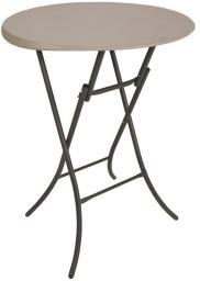 LIFETIME Okrągły stół Bistro 83.8 cm (migdałowy)  (80362)