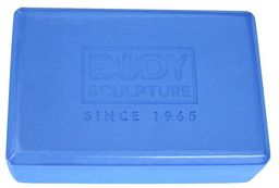Body Sculpture Kostka do jogi niebieska