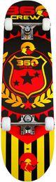 Deskorolka SOLEX SPORTS Deskorolka Flat Double Kick Deck czarna (25523)