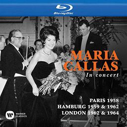 CLASSICAL CALLAS, MARIA CALLAS TOUJOURS, PARIS 1958 / IN CONCERT, HAMBURG 1959 & 1962 / AT COVENT GARDEN, LONDON 1962 & 1964 (BLU-RAY)