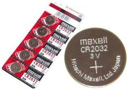 Maxell Bateria Maxell Lithium CR2032 - 100080 1 sztuka