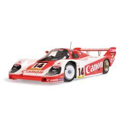 Minichamps Porsche 956 Canon Racing #14 Lammers/Boutsen 3rd Place Silverstone 1000 Kilometers 1983 (155836614)