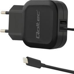 Ładowarka Qoltec do Smartfona USB+USB-C (50190)