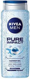 Nivea Pure Impact Żel pod prysznic 3w1 500ml