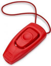 Clix Whizzclick gwizdek i clicker 2w1 czerwony
