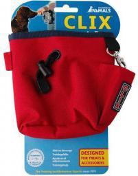 Clix Torebka na przysmaki czerwona