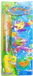 Swede Gra rybki z wędką na baterie (G918)