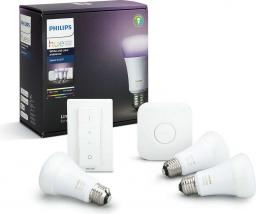 Philips Hue White and color ambiance Zestaw startowy E27