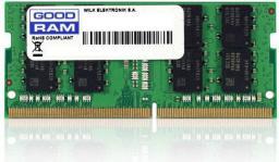 Pamięć do laptopa GoodRam DDR4 SODIMM 8GB 2400MHz CL17 (GR2400S464L17S/8G)