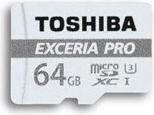 Karta MicroSD Toshiba Exceria Pro M401 MicroSDXC 64GB UHS-I + Adapter (THN-M401S0640E2)