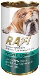 Łuków Rafi Pies 400g Pasztet Jagnięcina
