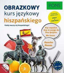 Obrazkowy kurs języka hiszpańskiego z płytą CD - 255101