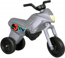 WORKER Rowerek biegowy Enduro Maxi Srebrny (8660)