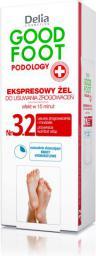 Delia Stopy 3.2 Ekspresowy żel do usuwania zrogowaceń