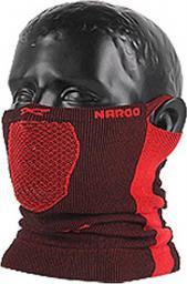 NAROO Maska X5 Czarno-czerwony (STNO:X5CCZER)