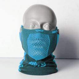 NAROO Maska treningowa X5s czarno-niebieski (STNO:X5sCN)