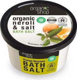 Organic Shop Sól do Kąpieli, Kwiat Gorzkiej Pomarańczy 250ml