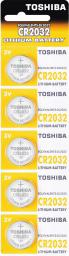 Toshiba Bateria CR2032 230mAh 5szt.