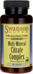 Swanson Multi Mineral Citrate Complex 60 kaps.