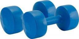 Allright Hantle gumowane 2x5kg niebieskie