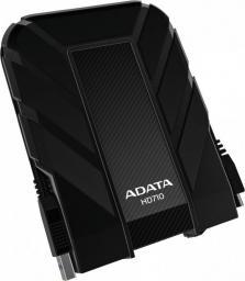 Dysk zewnętrzny ADATA HDD HD710 2 TB Czarny (AHD710P-2TU31-CBK)