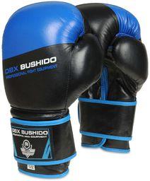 DBX BUSHIDO Rękawice bokserskie B-2V5 niebiesko-czarne r. 10