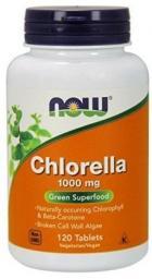 NOW Foods Chlorella 1000mg 60 kapsułek