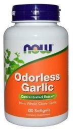 NOW Foods Odorless Garlic 100 kapsułek