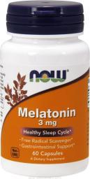 NOW Foods Melatonin 5mg 60 kapsułek
