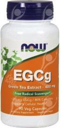 NOW Foods EGCg 400mg 90 kapsułek
