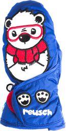 REUSCH Rękawice zimowe dziecięce Cutes R-Tex XT Mitten Reusch Bear granatowe r. 4 (46 85 551 981)