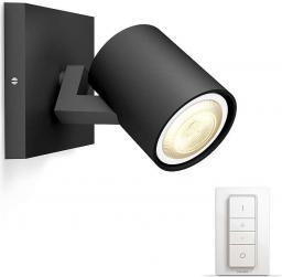 Philips Hue lampa punktowa Runner czarna obudowa 1x5,5W (8718696159347)