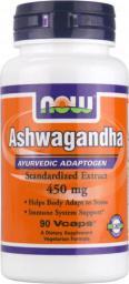 NOW Foods Ashwagandha 90 kaps.