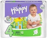 Bella Pieluszki Happy Maxi 8-18kg  12szt