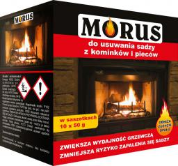 Bros Morus - proszek do usuwania sadzy z kominków i pieców 50g