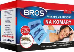 Bros Wkłady do elektro na komary 20szt