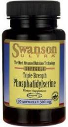 Swanson Fosfatydyloseryna potrójna moc 300mg  30 kaps.