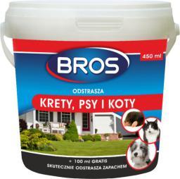 Bros Odstrasza krety, psy i koty 450g