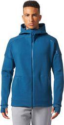Adidas Bluza adidas ZNE Hood2 Pulse BQ0095 BQ0095 niebieski L - BQ0095
