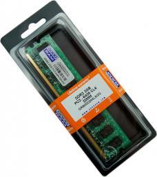 Pamięć GoodRam DDR2, 2 GB,800MHz, CL6 (GR800D264L6/2G)