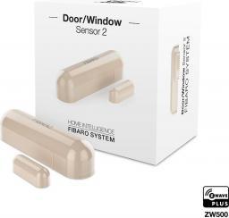 Fibaro Czujnik otwarcia/zamknięcia dzrzwi/okno 2 kość słoniowa (FGDW-002-4 EU)