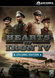Hearts of Iron IV - Colonel Edition PC, wersja cyfrowa
